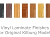 Vinyl Laminate Finishes