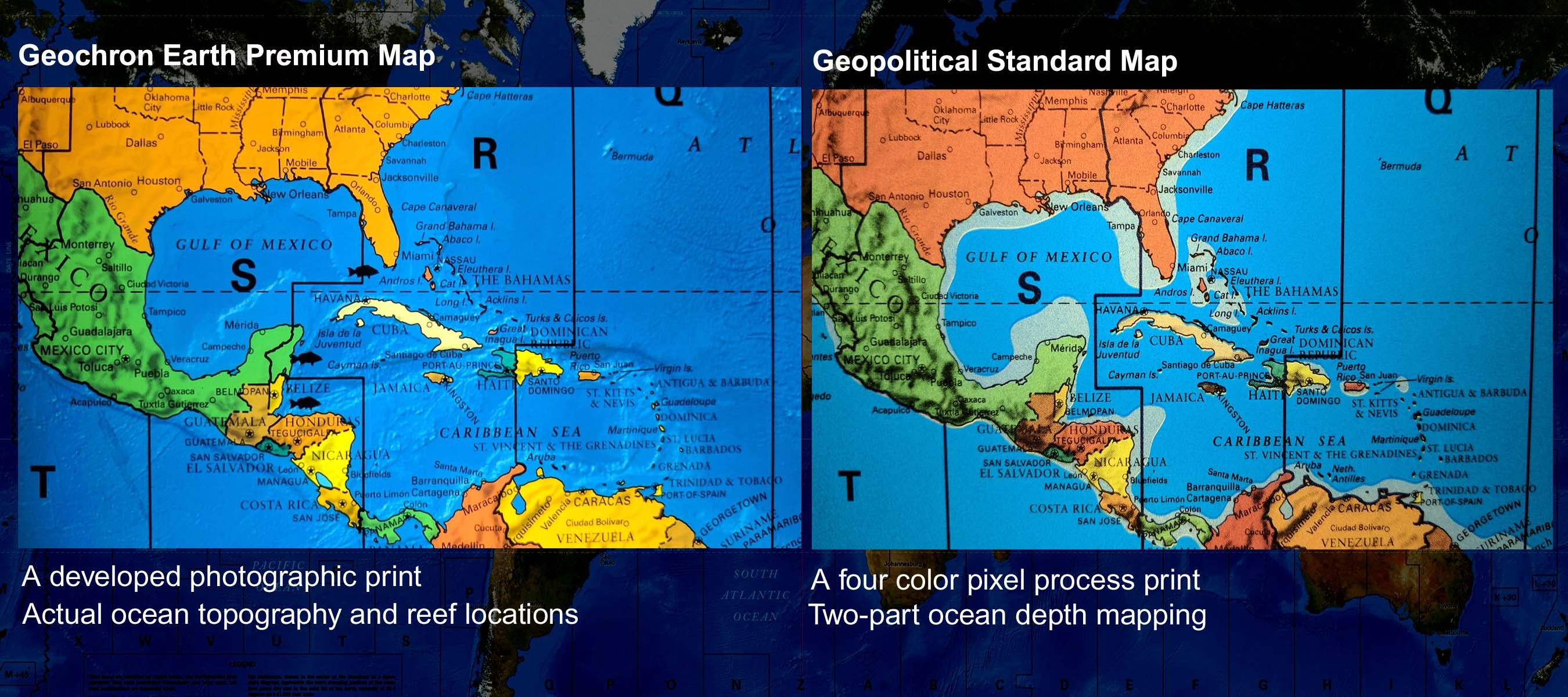 Earth comparison - Carribean - web